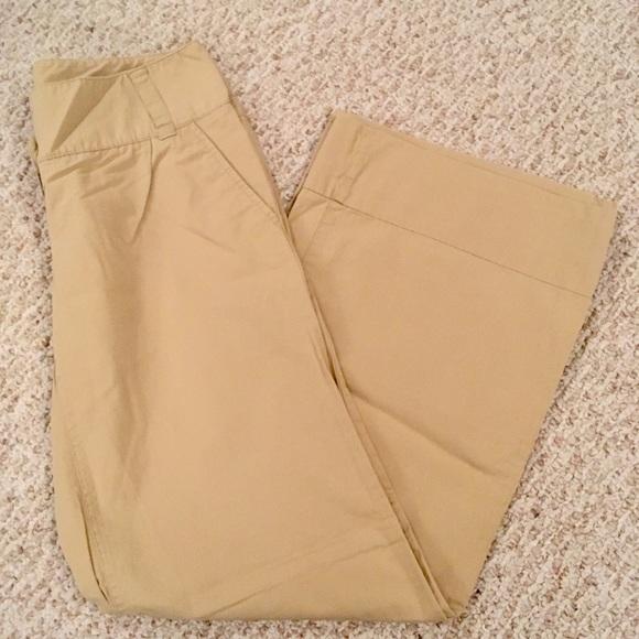 New York & Company Pants - New York & Company Wide Leg Khakis
